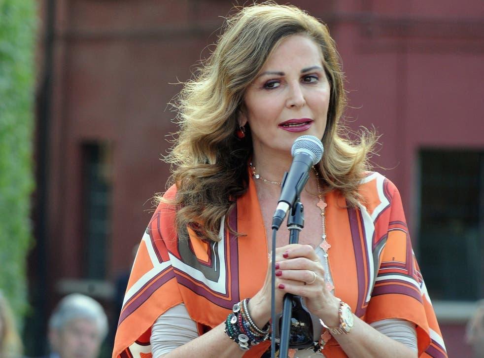 Italian politician, and Berlusconi loyalist, Daniela Santanche