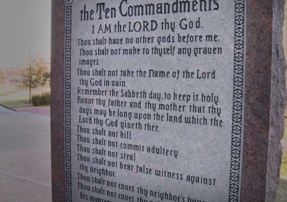 Bills View Ten Supreme Court Special >> Oklahoma Supreme Court Rules That Ten Commandments Monument Must Be