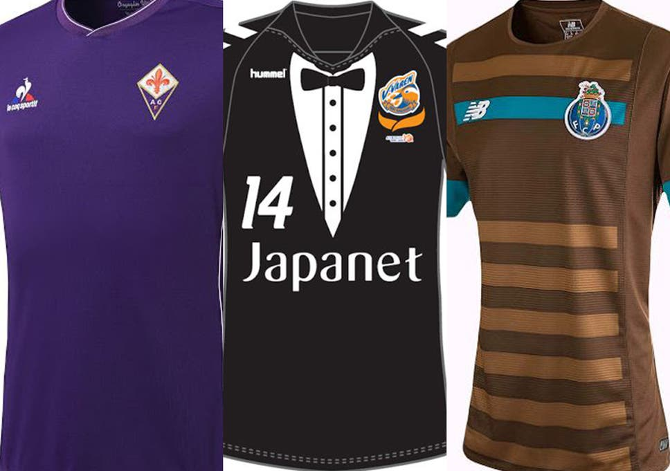 17222a408 Football kits 2015/16: The good, the bad and the downright worst new shirts  from around the world for next season