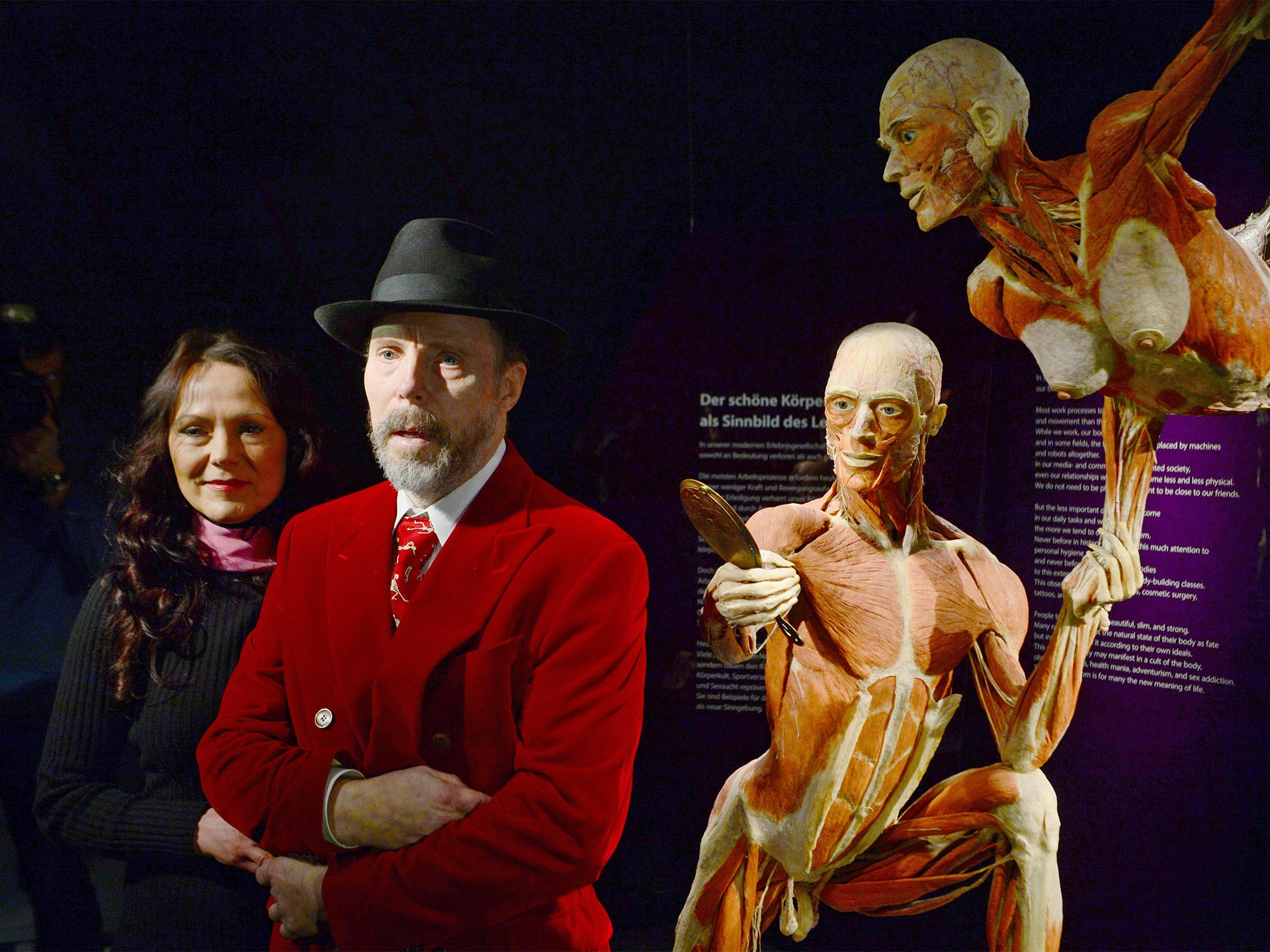 7a88e097 Bodyworlds museum: Dr Gunther von Hagens has battled legal threats,  Parkinson's disease, and the threat of bankruptcy