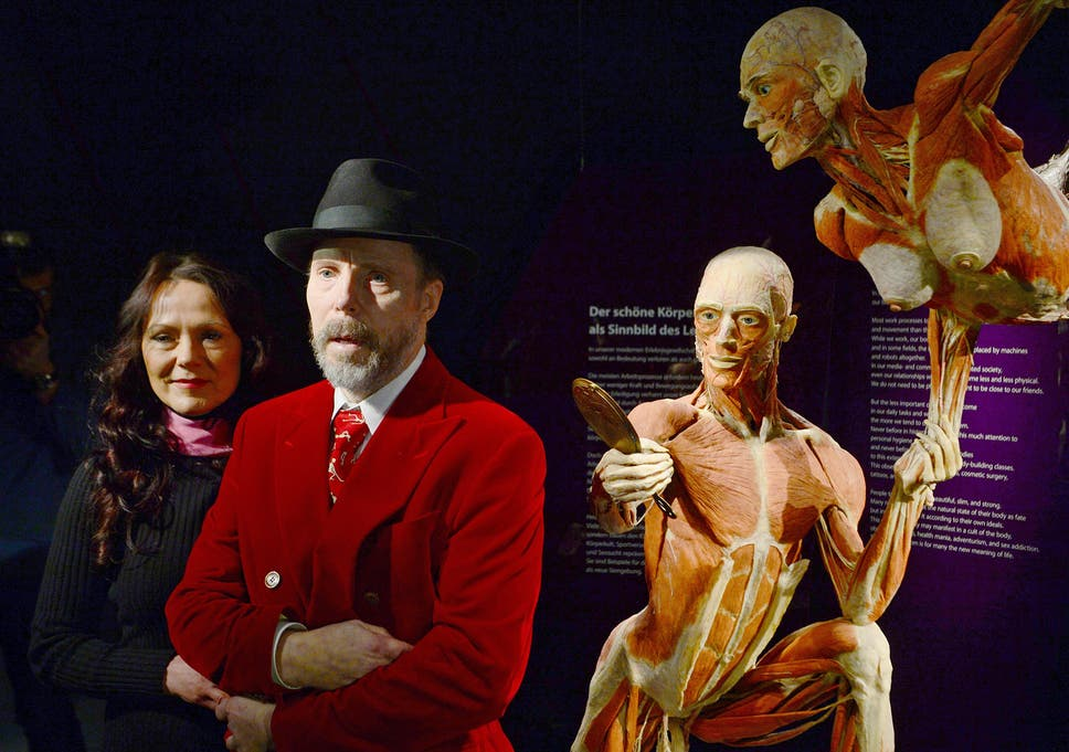 537f107dd3a Bodyworlds museum  Dr Gunther von Hagens has battled legal threats ...