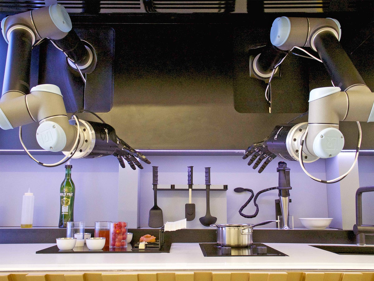 Kitchens Go Hi Tech From Robot Chefs To Recipe Shopping Apps Computerised Cooking Is Coming The Independent The Independent