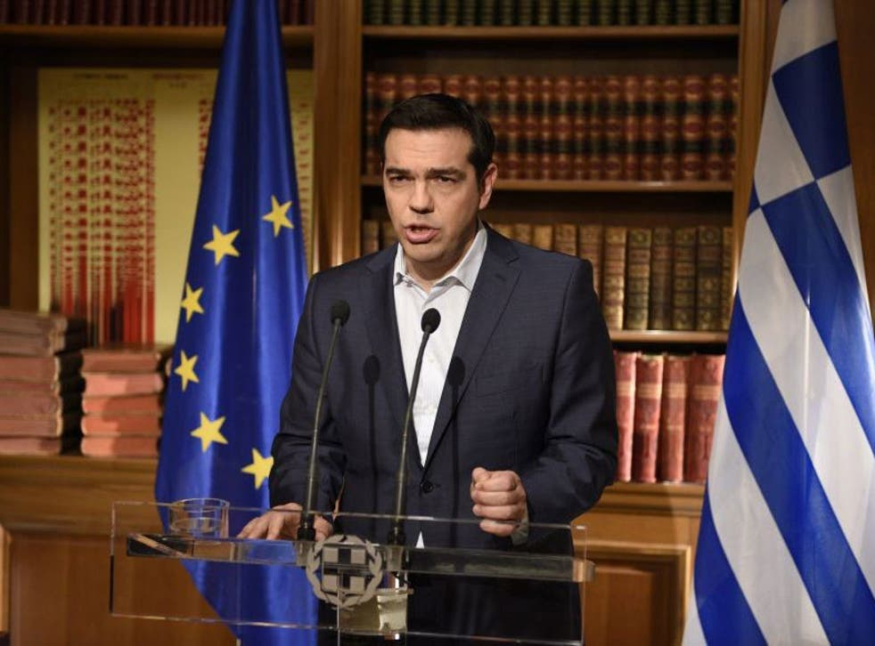 Speaking to the nation in a televised address, Greek Prime Minister Alexis Tsipras urged Greeks to vote 'No' in the referendum, saying Greece was being 'blackmailed' by its creditors