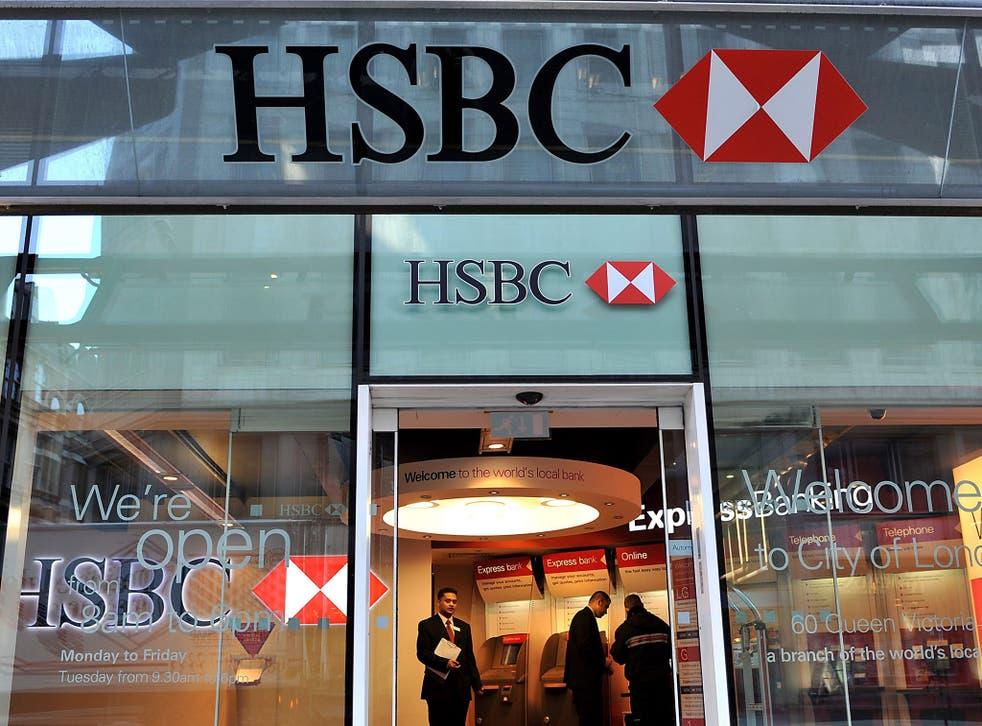 HSBC said it is investigating the glitch
