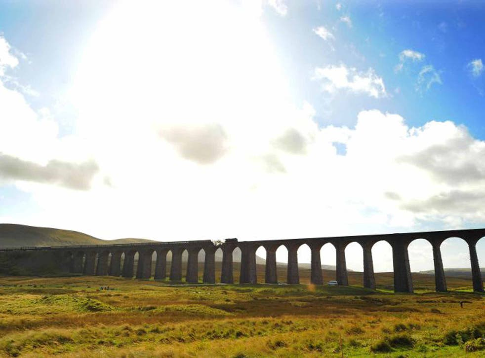 On a high: the 24-arch Ribblehead Viaduct symbolises this scenic railway