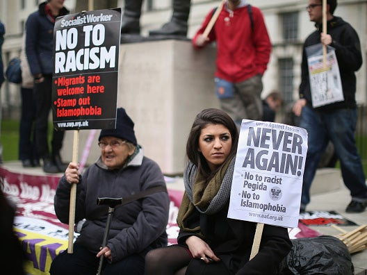 white people may deny it but racism is back in britain