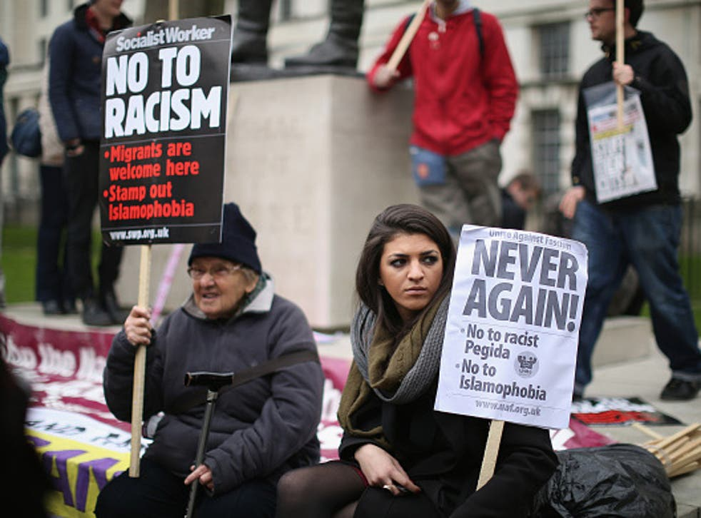 Racism is on the rise in the UK as hate crime reports soar in London