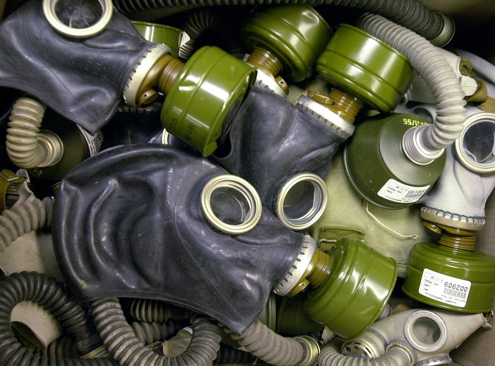 Some 100,000 Iranians were estimated to have been killed with Iraqi chemical and nerve agents by the end of the Iran-Iraq war in 1988