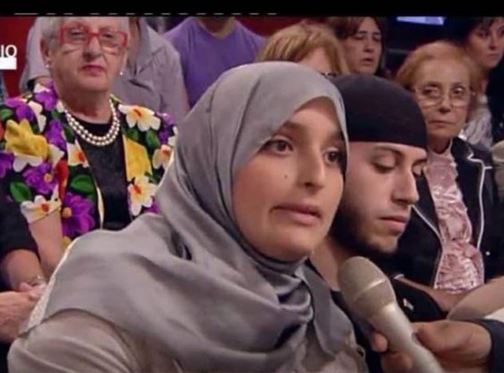 The former Maria Giulia Sergio, now Fatima Az Zahra, talking about her conversion to Islam
