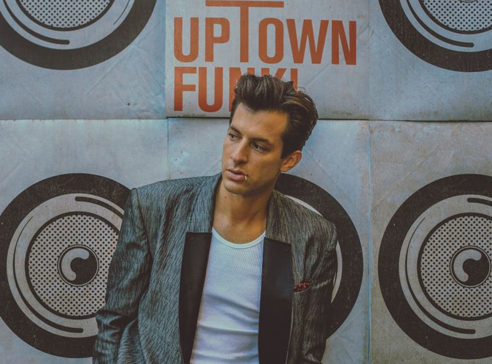 Mark Ronson's 'Uptown Funk' single was played 45 million times on audio streaming services