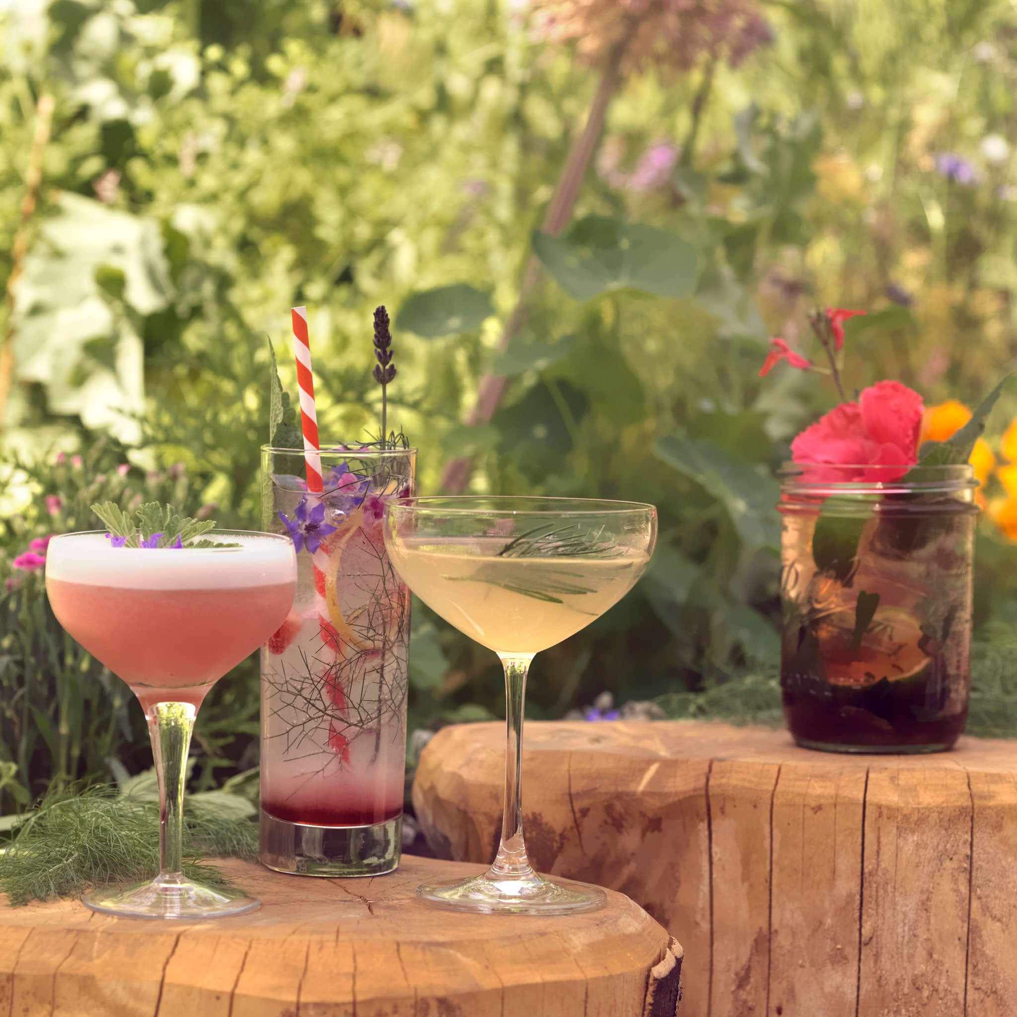 The Midnight Apothecary reveals how to turn your garden into a cocktail bar