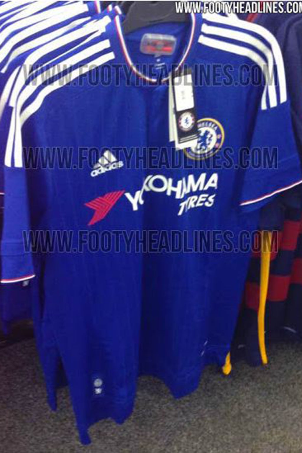 a81b0de756c Chelsea 2015 16 home shirt leaked again as new picture appears ...