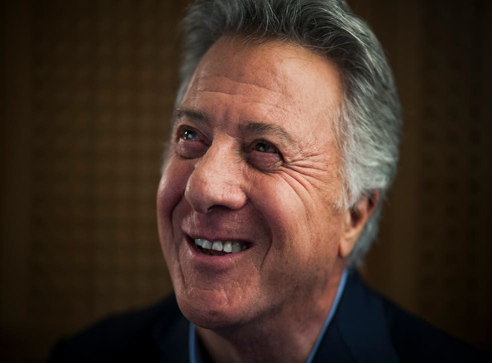 Hollywood actor and director Dustin Hoffman