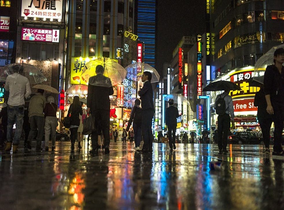 Japan's population is declining at a record rate (Getty/AFP)