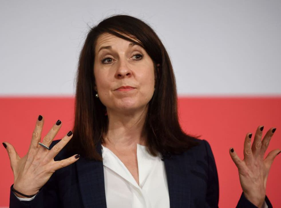 Liz Kendall faces opposition from many within the Labour Party to 'English votes for English laws'