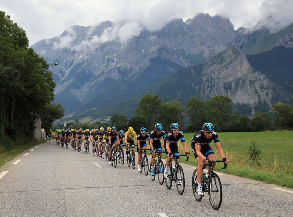 Chris Froome and Sky have done their utmost to minimise the risks in the first week. The Briton is surrounded in the Tour by a phalanx of Sky's Classics experts.