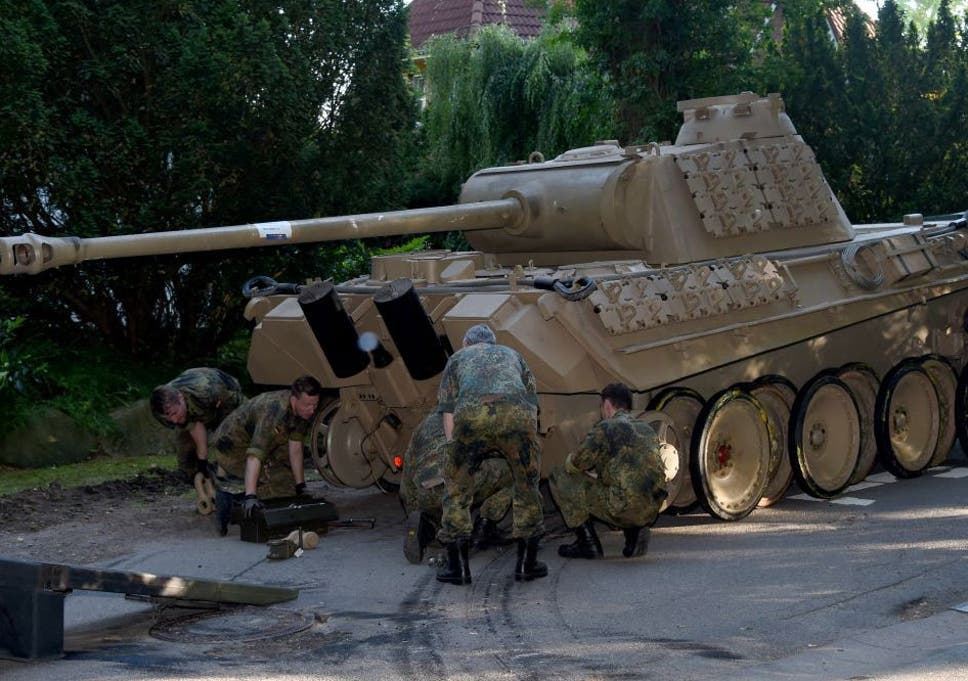 World War Two tank discovered in German man's basement | The