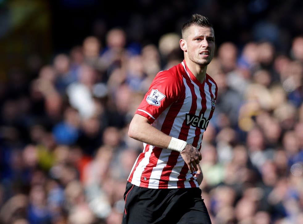 Schneiderlin wanted to leave Southampton last season but was denied a move