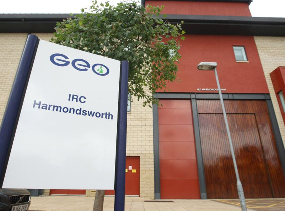 Harmondsworth Moor in London is the largest immigration detention centre in Europe