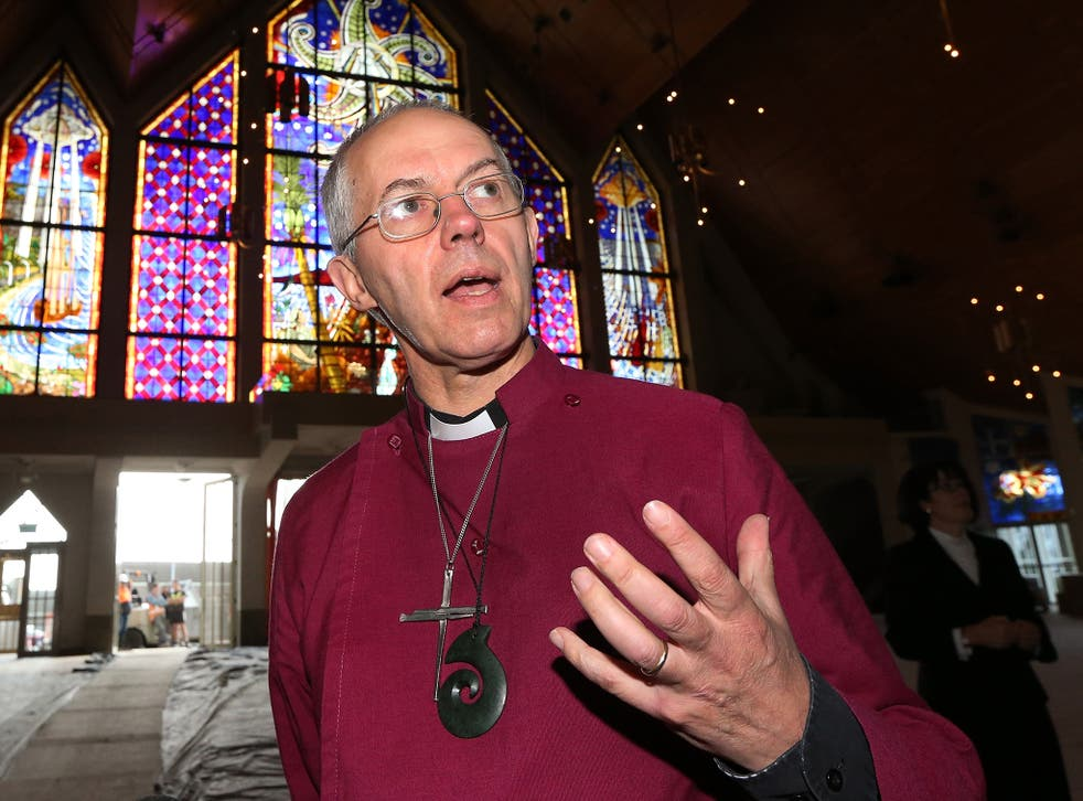 """The Archbishop of Canterbury has previously said he sometimes questions if God """"is there"""""""