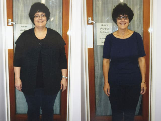 Pauline Boyle weighed 18 stone in March 2010; by September 2011, she had dropped to 11 stone