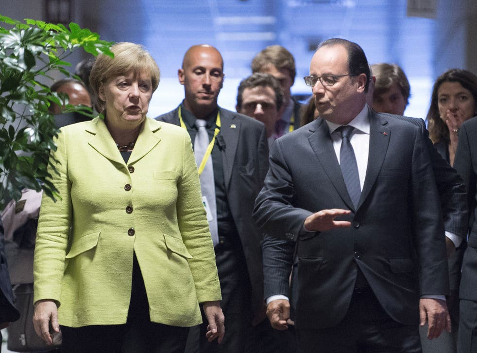 Francois Hollande and Angela Merkel will play a key role in the future of Europe