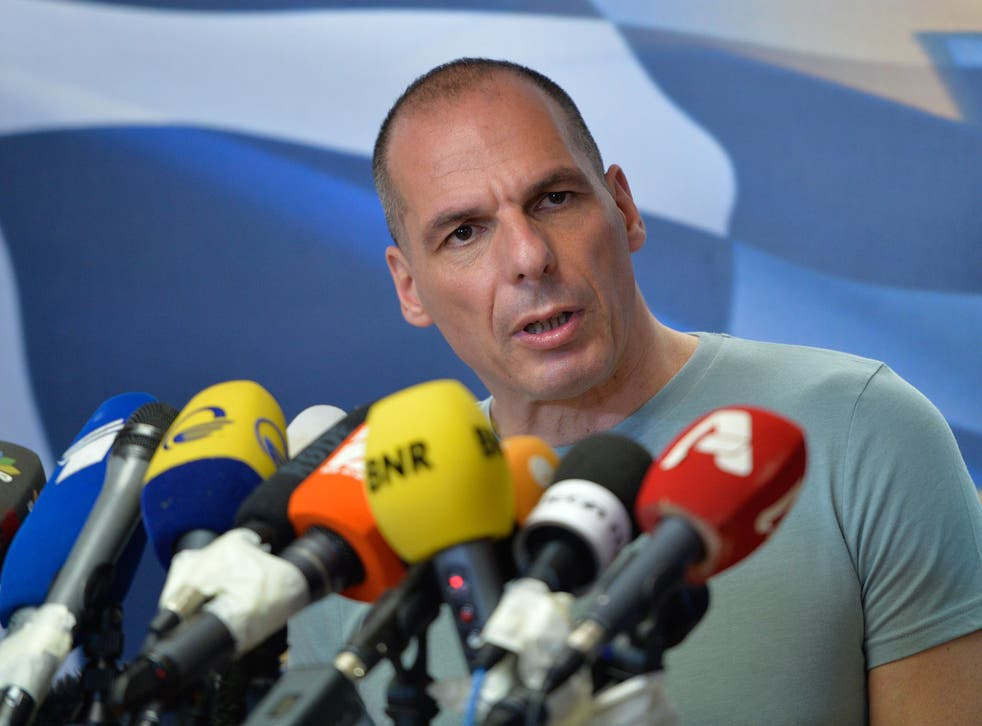 Yanis Varoufakis led Greece's negotiations with its creditors before he was replaced