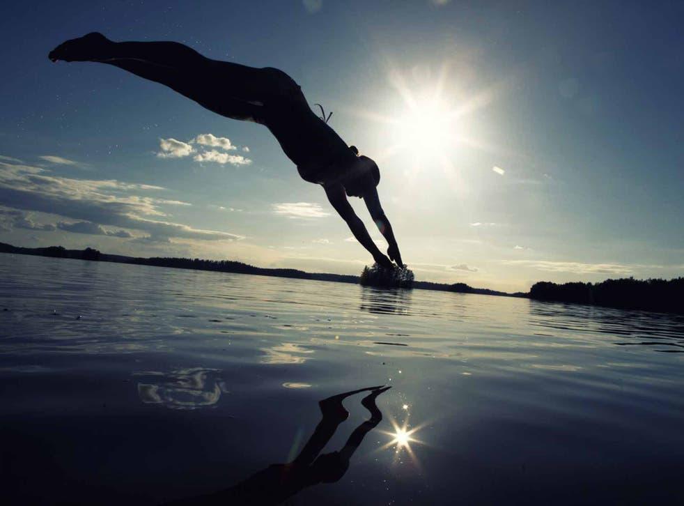 Perfect Finnish: Take a dip in a pristine lake