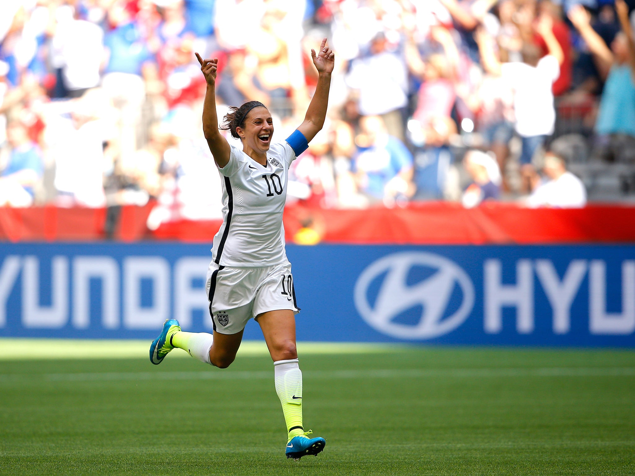 Carli Lloyd Quotes Carli Lloyd Scores Brilliant Halfway Line Goal For Women's World