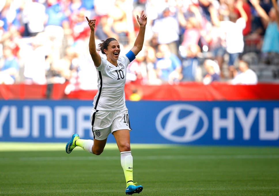 e671b46147c Carli Lloyd scores brilliant half-way line goal for Women s World ...