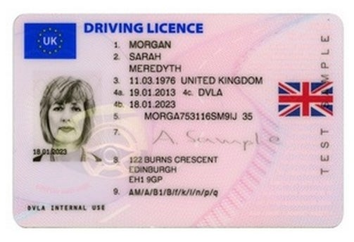 Car Driving Licence Category