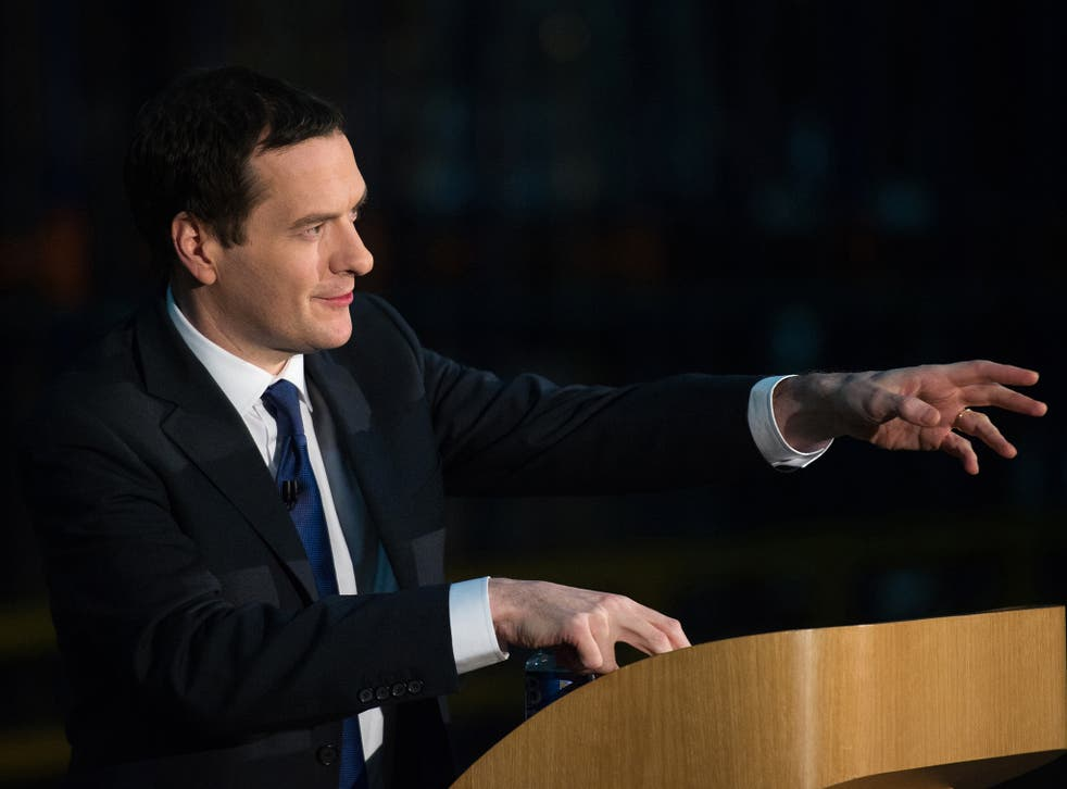 """George Osborne has been warned that his planned cuts will leave services """"gutted"""""""