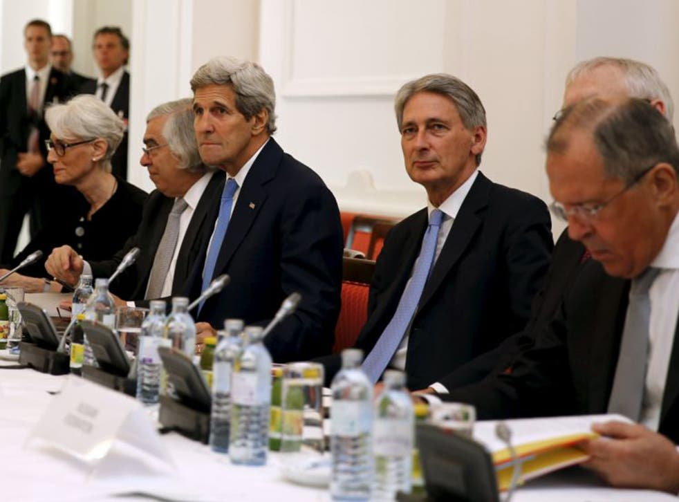 US Secretary of State John Kerry and UK Foreign Secretary Philip Hammond meet foreign ministers in Vienna on Monday