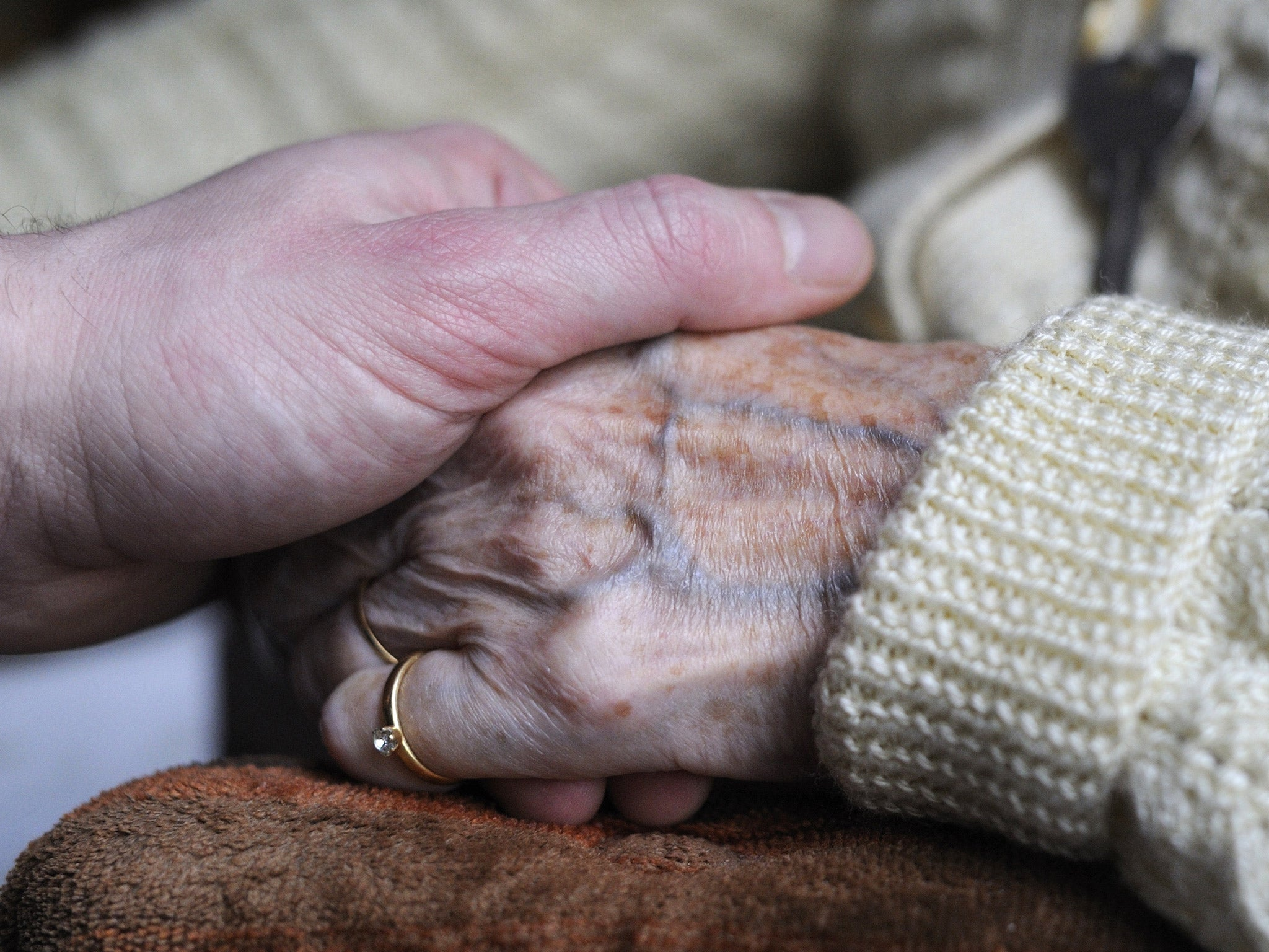 Elderly care in England is 'unacceptable in a civilised society