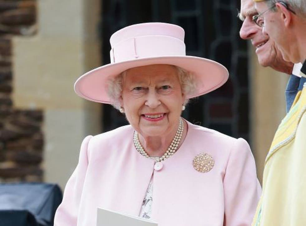 The Queen had been attending a routine hospital appointment at the time of the tweets