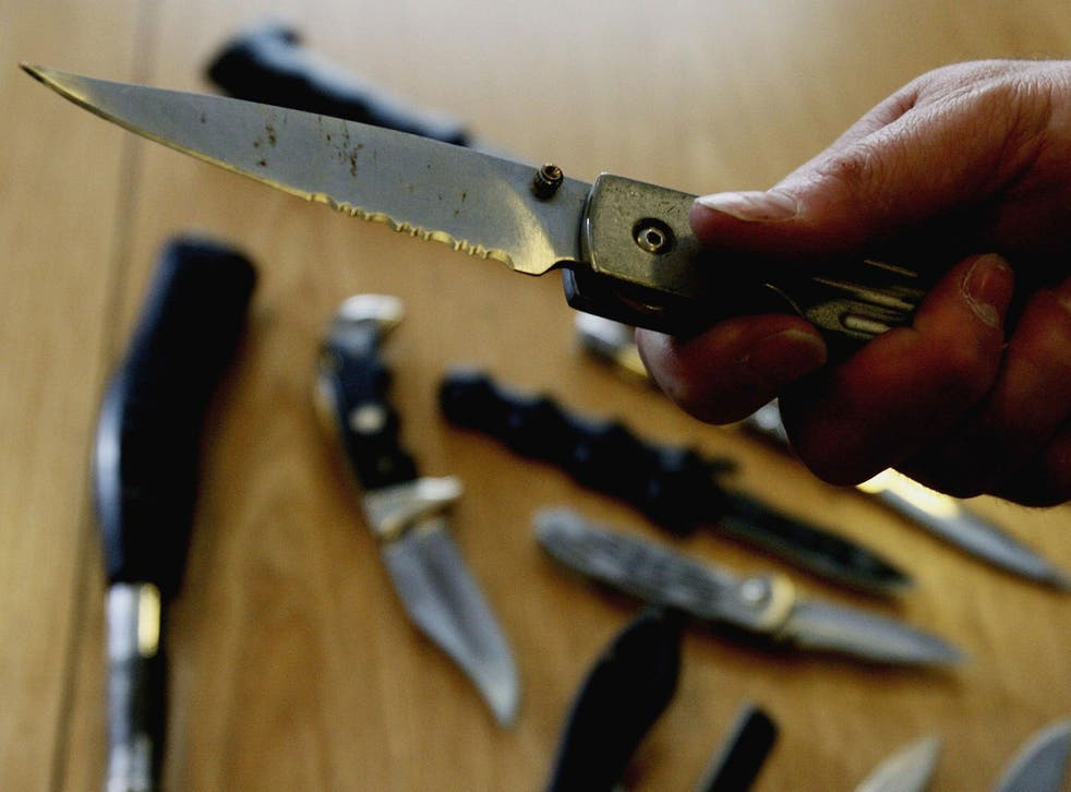 Knife crime hit record levels in England and Wales last year