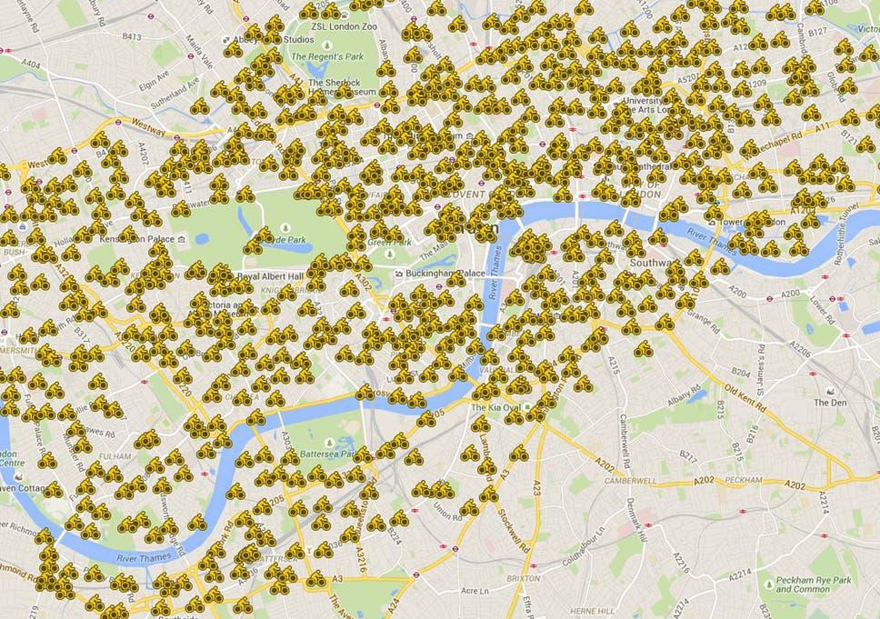 Map Around London.Tube Strike Three Maps To Navigate Yourself Around London The