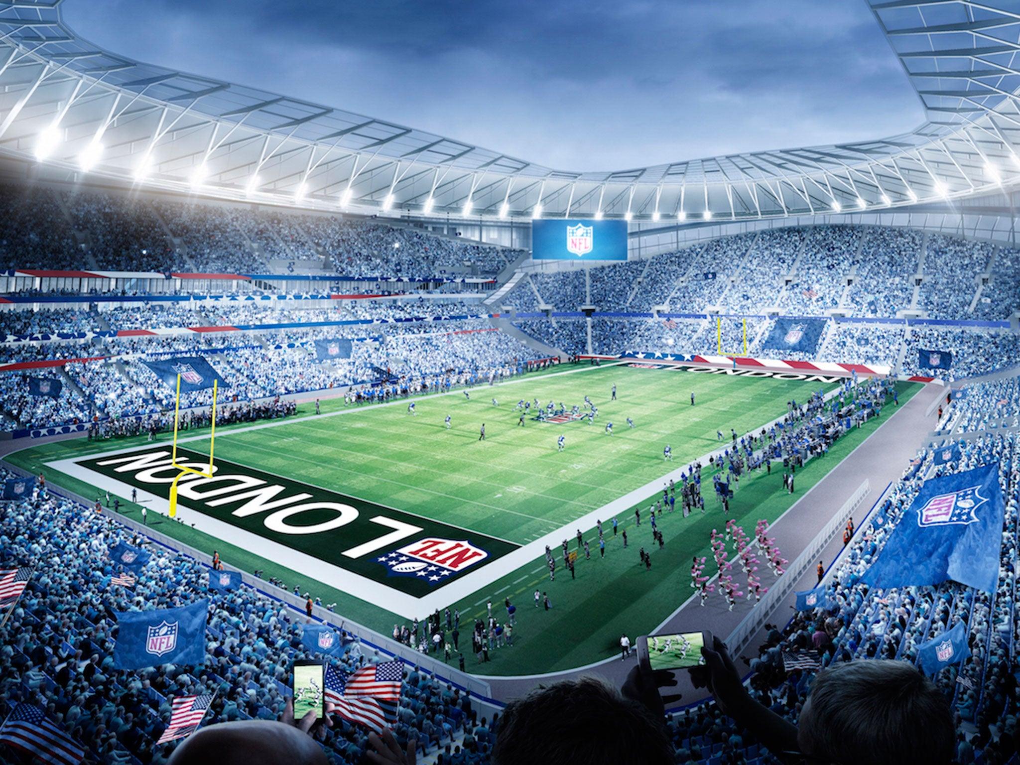 Tottenham Stadium Spurs Reach 10 Year Agreement To Host
