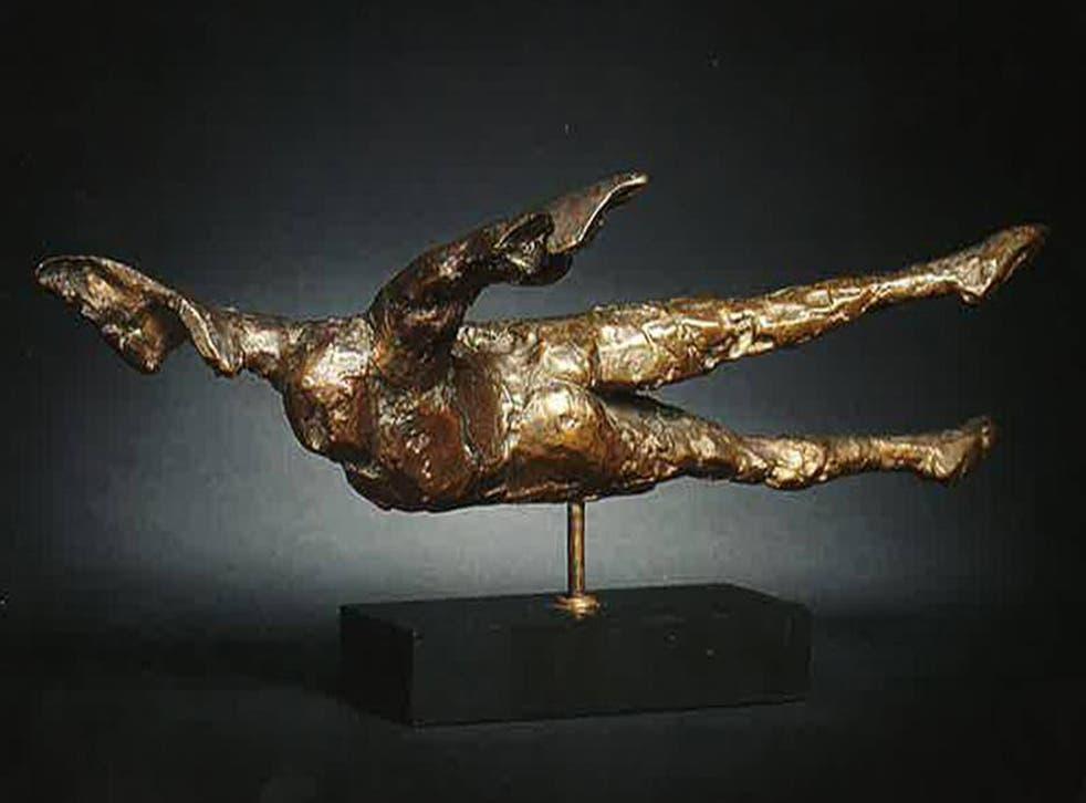 Elisabeth Frink's 'Horizontal Birdman 1'
