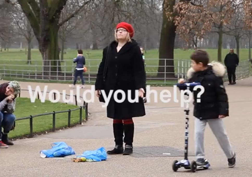 b12efbc30 The social experiment that shows (some) Londoners aren t that rude ...