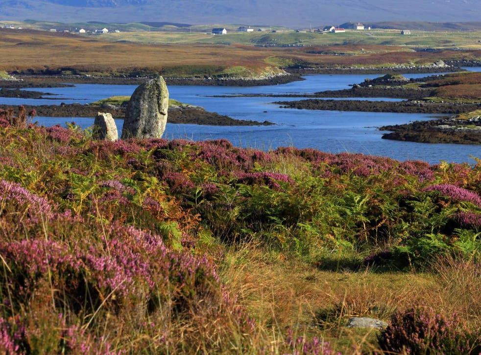 The Outer Hebrides ranks highest in the UK, according to ONS wellbeing data