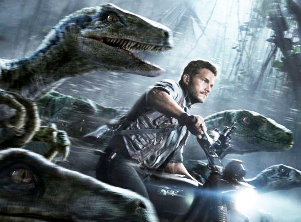 Chris Pratt in top-grossing blockbuster Jurassic World
