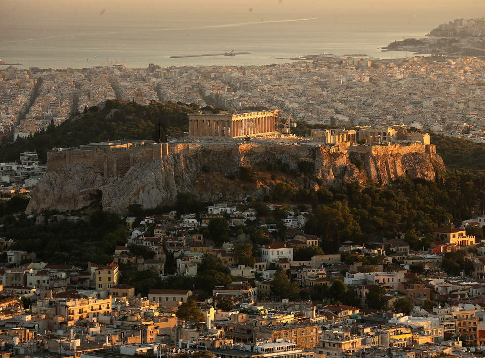 Visitors to Greece have increased by about 50 per cent since the crisis began eight years ago.