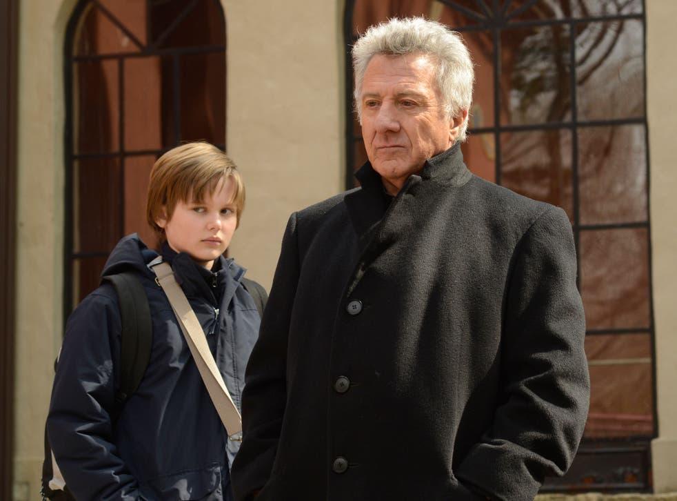 Garrett Wareing and Dustin Hoffman in 'The Choir'