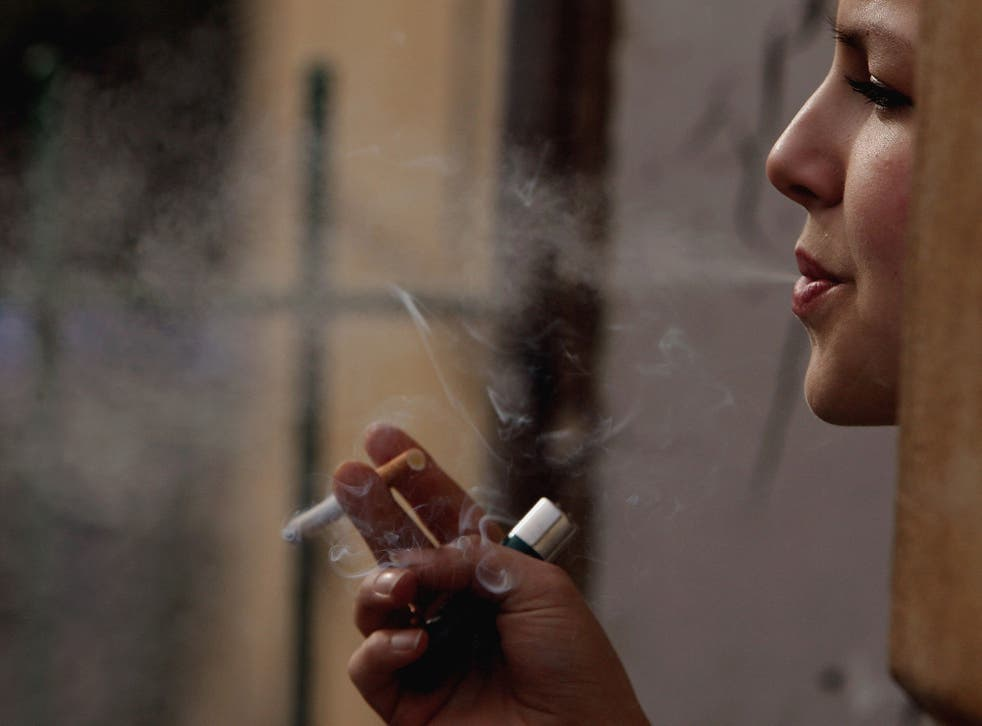 Scientists have suggested that smoking may be a risk factor for developing psychotic illnesses like schizophrenia