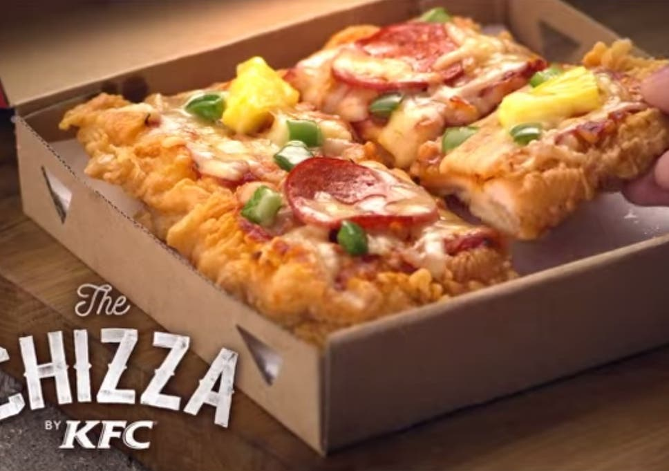 kfc s fried chicken pizza is the latest tragedy to hit pizza the
