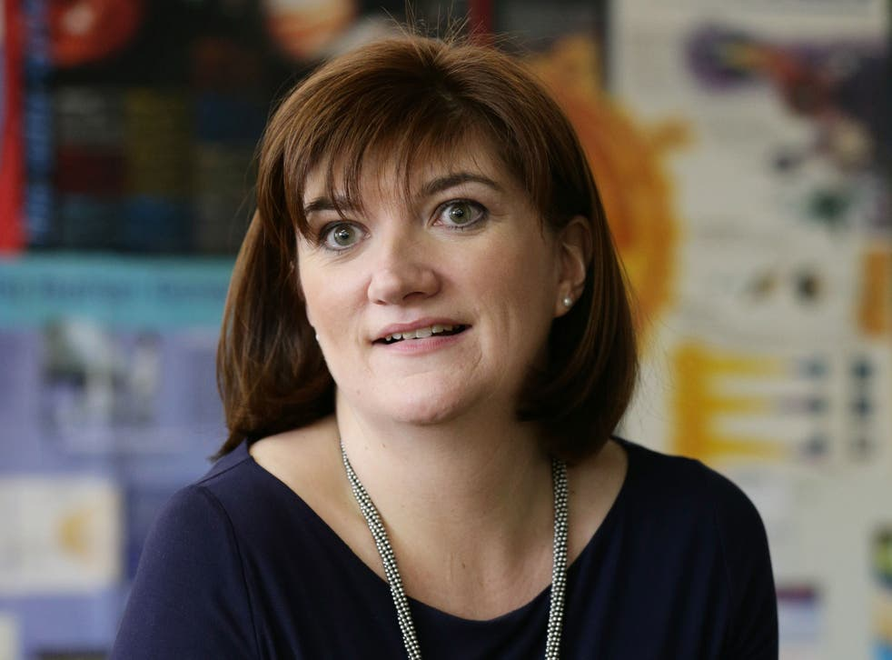 Nicky Morgan, Secretary of State for Education and Equalities Minister