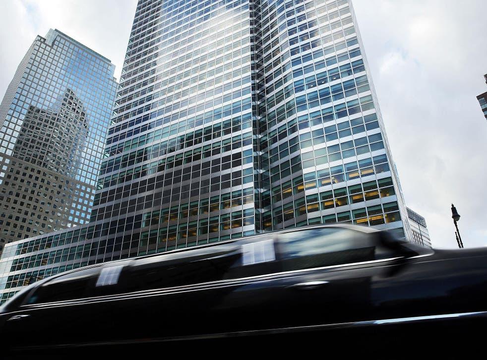Goldman Sachs Manhattan headquarters