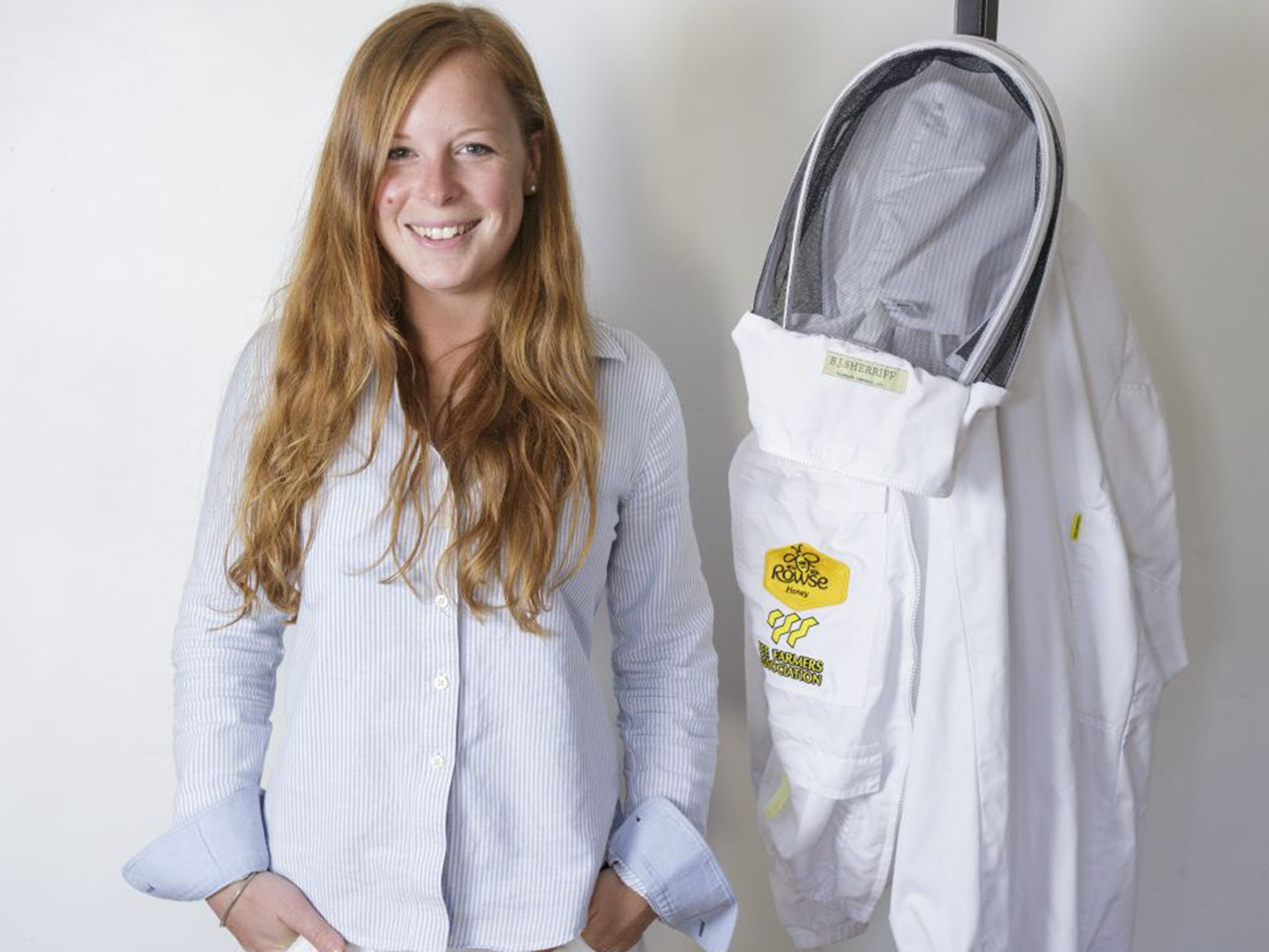 5109742c4 Rebecca Marshall: Meet the world's first apprentice bee farmer | The ...