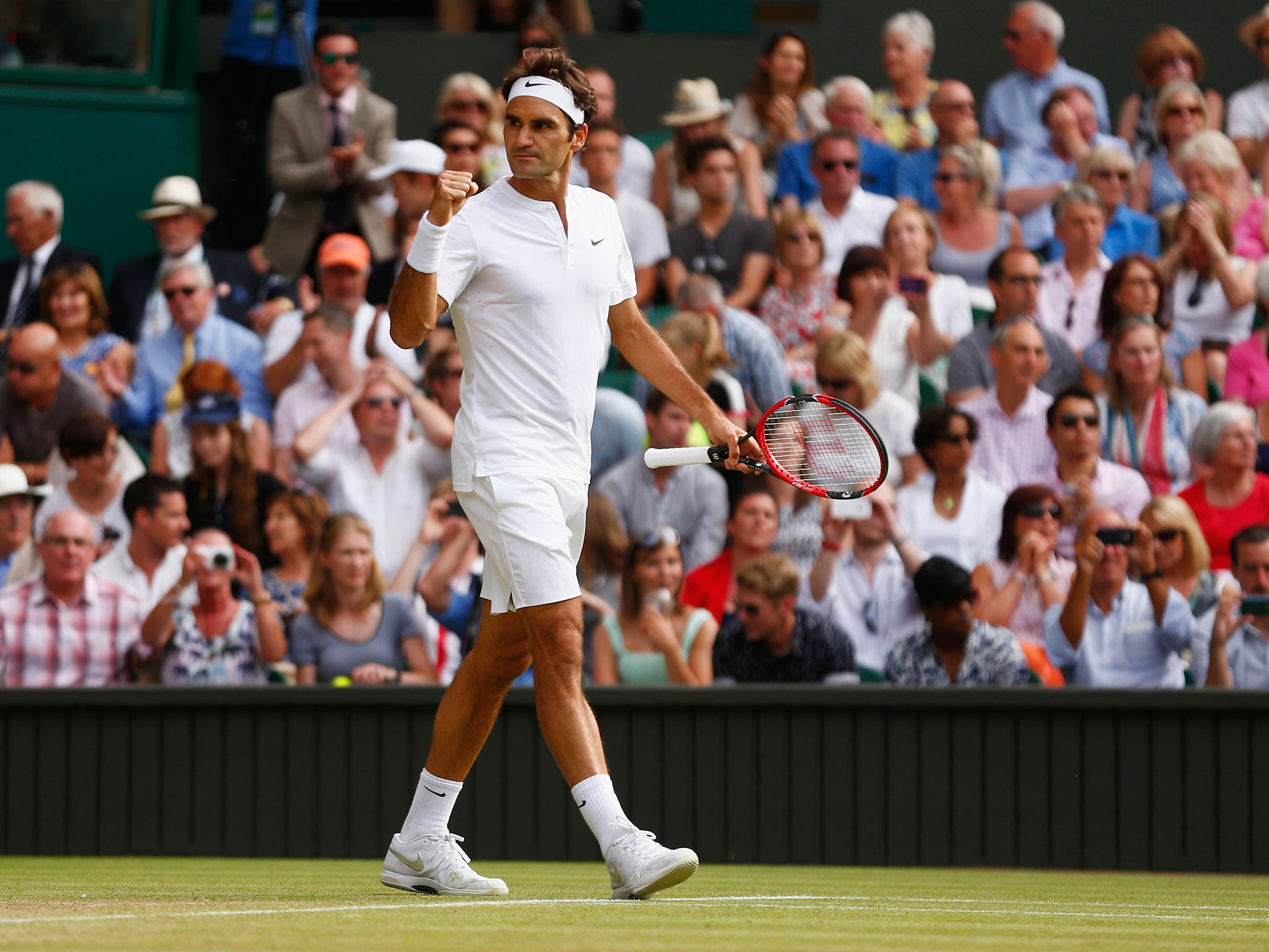 Wimbledon 2015: 'Roger Federer On Friday Was The Best